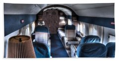 Airplane Interior Beach Sheet