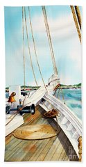 A.j. Meerwald-coming Home Beach Towel