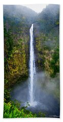 Akaka Falls Beach Sheet by Christopher Holmes