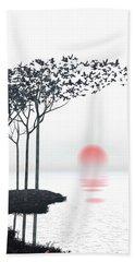 Aki Beach Sheet by Cynthia Decker
