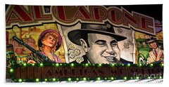 Al Capone On Funfair Beach Towel