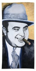 Al Capone Beach Sheet by Victor Minca