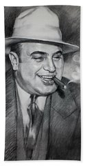 Al Capone  Beach Towel