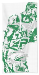Al Horford Boston Celtics Pixel Art 5 Beach Towel