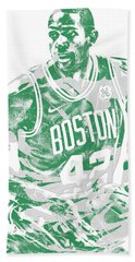 Al Horford Boston Celtics Pixel Art 6 Beach Towel