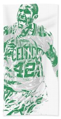 Al Horford Boston Celtics Pixel Art 7 Beach Towel