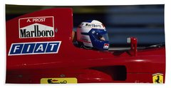 Alain Prost. 1990 French Grand Prix Beach Towel