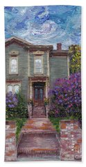 Alameda 1888 - Italianate Beach Towel