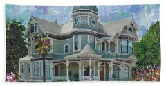 Alameda 1893  Queen Anne  Beach Towel