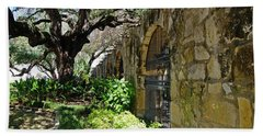 Beach Towel featuring the photograph Alamo by Mike Murdock
