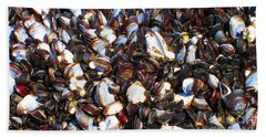 Alaska Clams2 Beach Towel