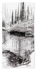 Alaska Pond Beach Sheet
