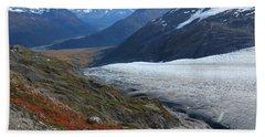 Alaska's Exit Glacier Beach Towel