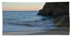 Albandeira Beach Welcoming Twilight 2 Beach Towel by Angelo DeVal