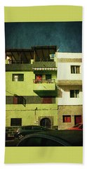Beach Towel featuring the photograph Alcala, Another Green House by Anne Kotan