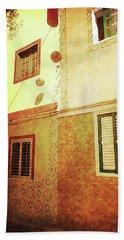 Beach Towel featuring the photograph Alcala, Fiesta House by Anne Kotan