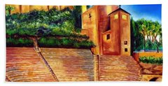Alcazaba Y Teatro Romano Beach Towel by Manuel Sanchez