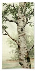 Alder Tree Beach Towel