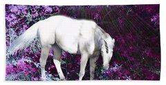 Alea's Unicorn  Beach Sheet