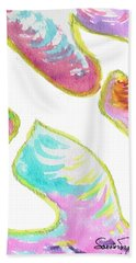 Aleph On Fire Beach Towel