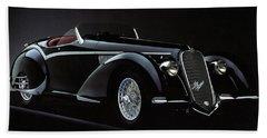 Alfa Romeo 8c 2900 Mercedes Benz Beach Sheet