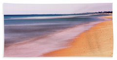 Beach Towel featuring the photograph Algarve Beach, Long Exposure - Portugal by Barry O Carroll