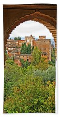 Alhambra - Granada, Spain Beach Towel