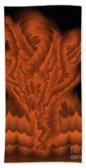 Alien Plant By Rgiada Beach Towel by Giada Rossi