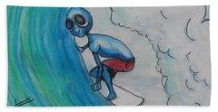 Alien Tube Beach Sheet