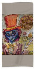 Alien Wonka And The Chocolate Factory Beach Towel