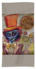 Alien Wonka And The Chocolate Factory Beach Sheet
