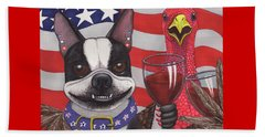 All American Winers Beach Towel