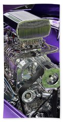 All Chromed Engine With Blower Beach Towel