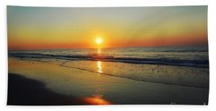 All That Shimmers Is Golden Beach Towel