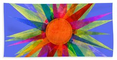 All The Colors In The Sun Beach Towel