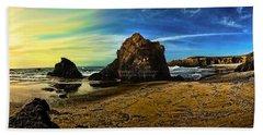 All The Gold In California Beach Towel