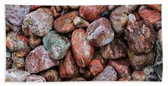 All The Stones Beach Towel
