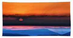 Allegheny Mountain Sunrise 2 Beach Towel