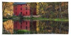 Alley Spring Mill Fall Mo Dsc09240 Beach Sheet