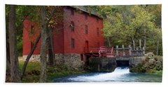 Alley Sprng Mill 3 Beach Towel by Marty Koch