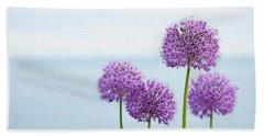 Alliums 1 Beach Sheet