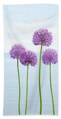 Alliums 2 Beach Sheet