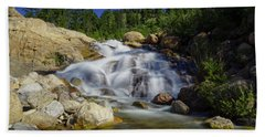 Alluvial Sands Water Fall Beach Towel