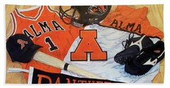 Alma High School Athletics Beach Towel