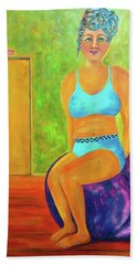 Art Something To Talk About Beach Towel
