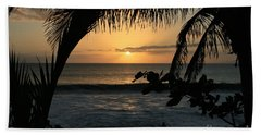 Aloha Aina The Beloved Land - Sunset Kamaole Beach Kihei Maui Hawaii Beach Towel