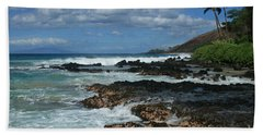 Aloha Island Dreams Paako Beach Makena Secret Cove Hawaii Beach Sheet