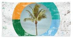 Aloha Palm Tree Beach Towel