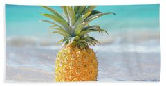 Beach Towel featuring the photograph Aloha Pineapple Beach by Sharon Mau