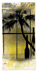 Beach Towel featuring the photograph Aloha,from The Island by Athala Carole Bruckner